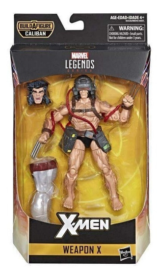 Weapon X Wolverine Arma X Legends Series Caliban