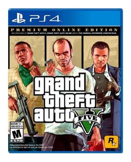 !!! Grand Theft Auto V Gta 5 Premium Ps4 En Wholegames !!!