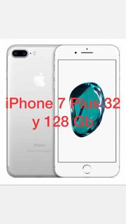 iPhone 7 Plus 128 Gb Y iPhone 7 Plus 32 Gb