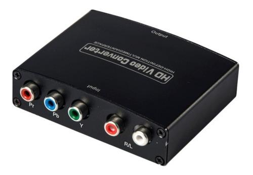 Conversor Componente Rgb Ypbpr A Hdmi Audio + Video Local