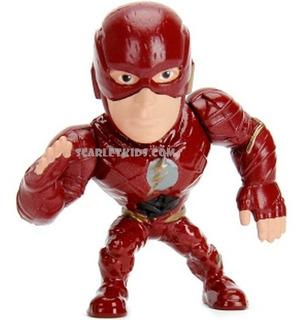 The Flash Figura Metals 6.5 Cm Justice League Diecast Dc