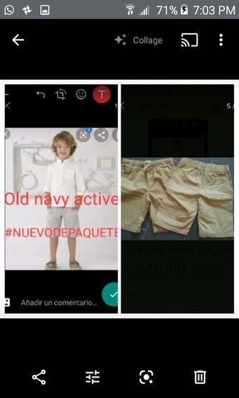 Short/bermuda Old Navy Active Para Niñ@s Original