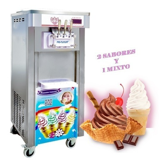 Maquina Helados De Crema / Yogurt