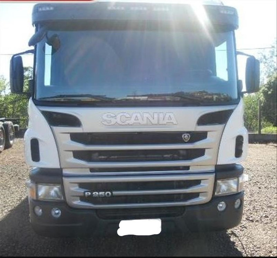 Scania P250 Sider Truck 2012