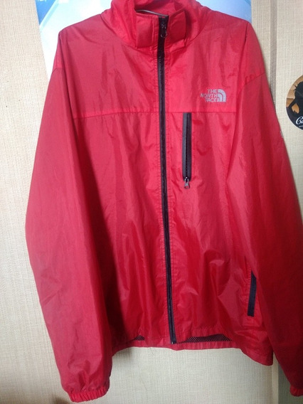 Cortavientos The North Face Roja Original