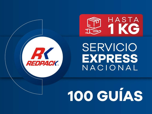 Imagen 1 de 1 de 100 Guías Prepagadas Express Hasta 1 Kg