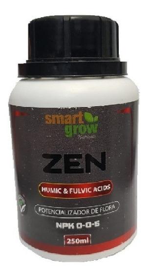 Fertilizante Smartgrow Zen 250ml Ácidos Úmicos E Fúlvicos