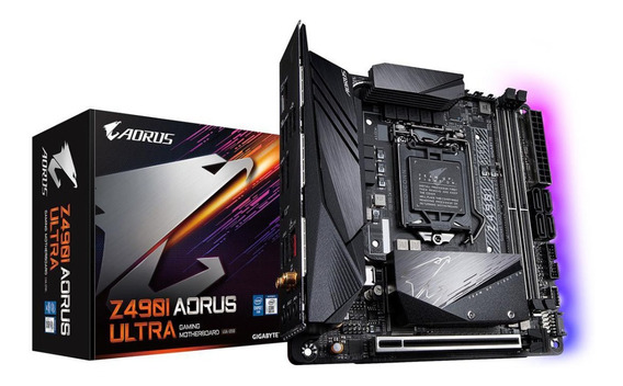 Mother Gigabyte Z490i Aorus Ultra Lga 1200 Intel Mini Itx