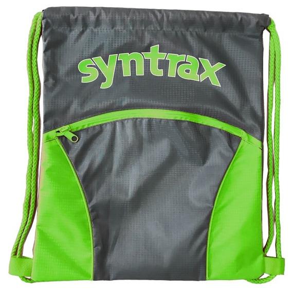 Bolsa Academia Gym Bag - Syntrax - Verde - Material Rip Stop