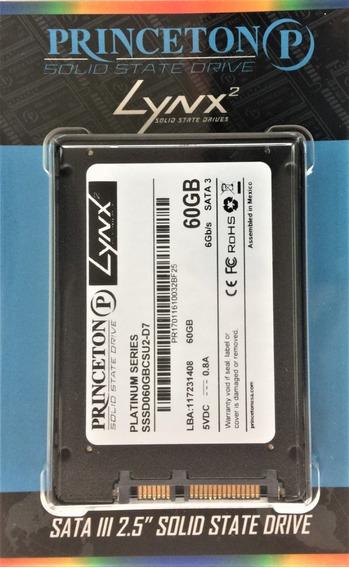 Ssd 60gb Platinum Lynx Sata 3 2.5 Novo C/nf. Kit Com 10