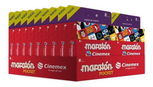 Maratón Cinemex Pocket (exhibidor Con 18 Piezas)
