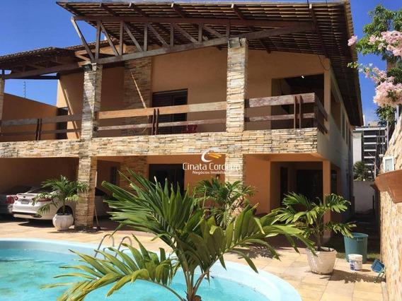 Casa Com 4 Dormitórios Para Alugar Por R$ 3.700/mês - Intermares - Cabedelo/pb - Ca0163