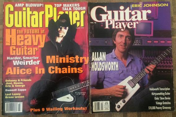 Revistas Guitar Player Americana Para Colecionadores