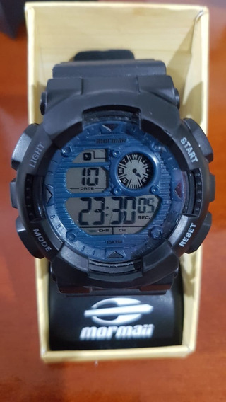 Relógio Mormaii Masculino Mo3415d Digital Preto Oferta