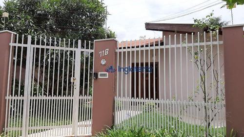Casa À Venda, 250 M² Por R$ 830.000,00 - Mediterrâneo - Londrina/pr - Ca1049