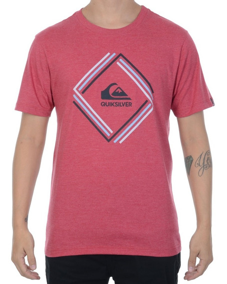 Camiseta Quiksilver Solid Edge