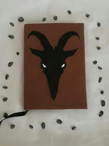 Grimorio Livro Das Sombras Agenda Diário Cabra
