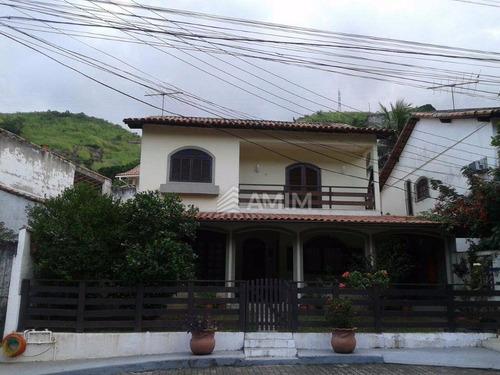 Imagem 1 de 30 de Casa À Venda, 126 M² Por R$ 560.000,00 - São Francisco - Niterói/rj - Ca0070