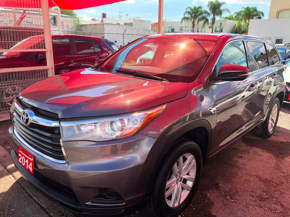 Toyota Highlander Le 2014 Credito Recibo Auto Financiamiento