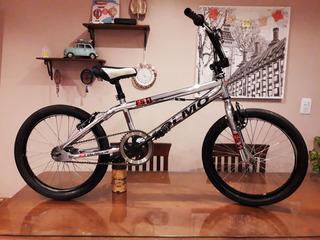 Bicicleta Bmx Free Style Rodado 20 Con Rotor Cromada Olmo