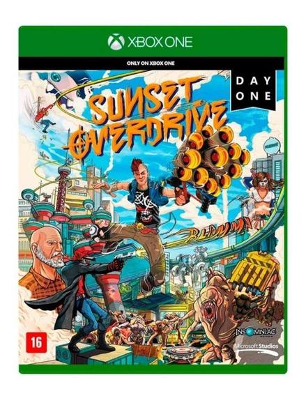 Jogo Sunset Overdrive - Xbox One Mídia Física Original