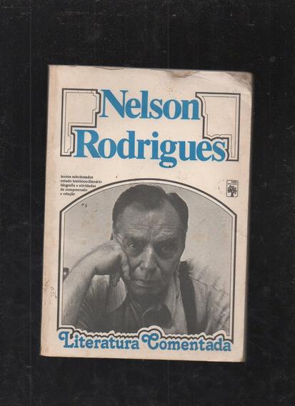 Livro Nelson Rodrigues: Literatura Comentada