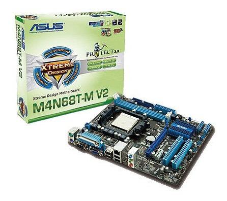 Combo Tarjeta Madre Pc Asus M4n68t-m V2+ Procesador+ Cooler
