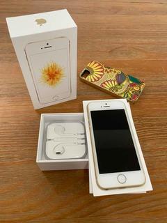 iPhone Se 64gb Dourado Nacional (anatel) + Nfe