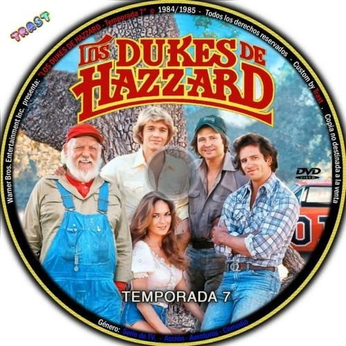 Serie Dukes Of Hazzard Serie 7 Temp Digital Precio X Temp