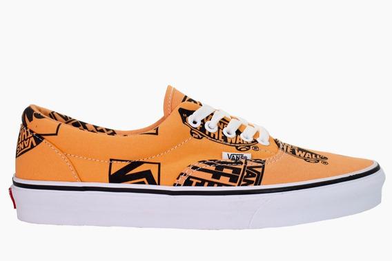 Tenis Vans Tangerine Black Tallas #23 Al 24 Cm Envio Gratis
