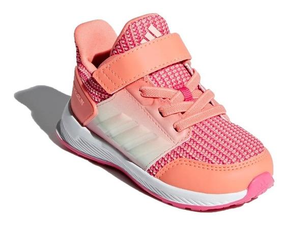 adidas Zapatillas Infantil Running Niña Rapida Run El I Rosa