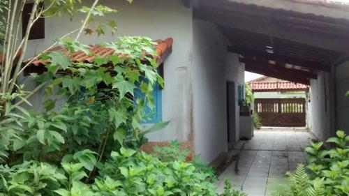 Casa No Bairro São Marcos Em Rua Pavimentada Itanhaém -ca303