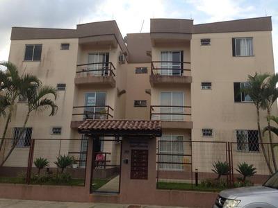Apartamento No Jardim Iririú Com 2 Quartos Para Locação, 52 M² - 909
