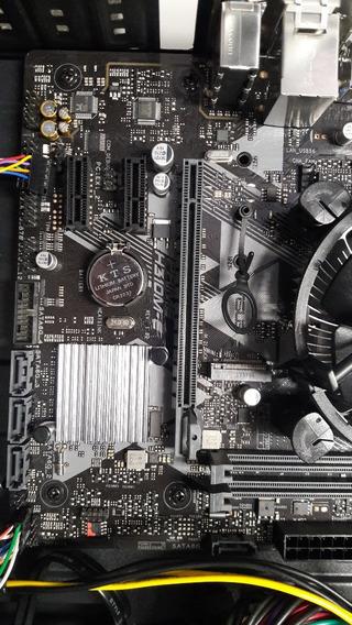 Intel I5 8600 8ª Geração Placa Mãe Asus H310m-e