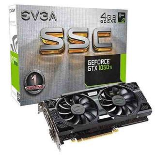 Evga Geforce Gtx 1050 Ti Ssc Gaming Acx 3.0, 4 Gb Gddr5, Dx1