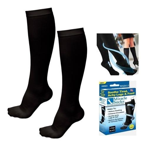 Medias Miracle Socks De Compresión Miracle Socks Talla Única