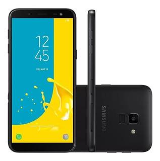 Celular Samsung J6 Galaxy Preto 32gb 2gb Ram Tela 5.6