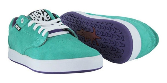 Tenis Hey Dog Bull Dog Aqua
