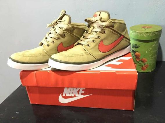 Nike Suketo 100% Original Verde Oliva / Rojo