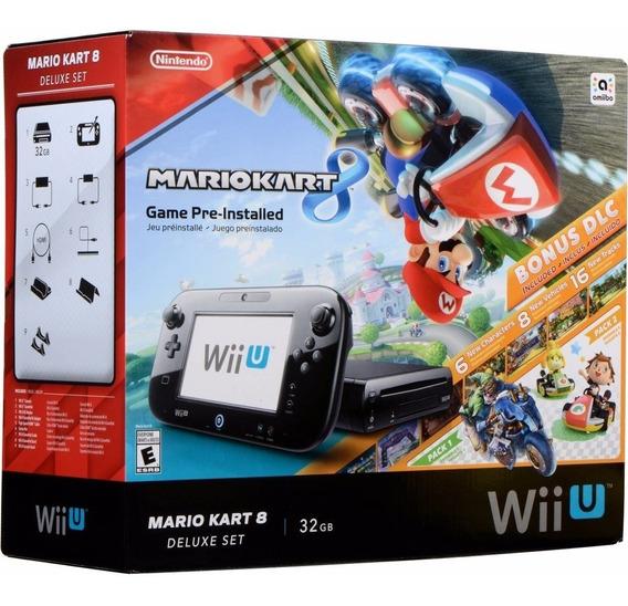Nintendo Wiiu Consola 32 Gb Edicion Mario Kart Nuevo Sellado