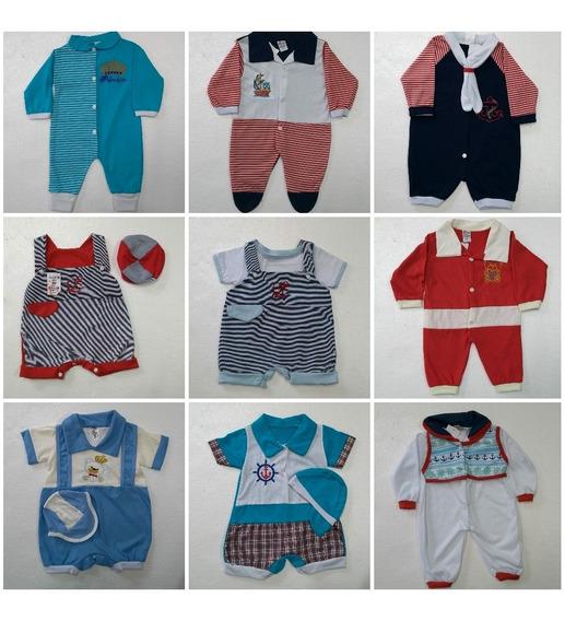 10 Roupinhas Roupas Para Bebês Menino Ou Menina Revenda