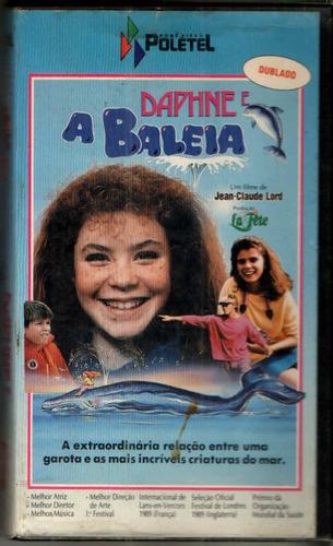 Vhs Dvd Daphne A Baleia - Dublado -
