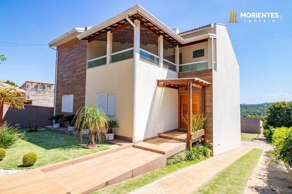 Chácara Com 4 Dormitórios À Venda, 750 M² Por R$ 850.000 - Caioçara - Jarinu/sp - Ch0001