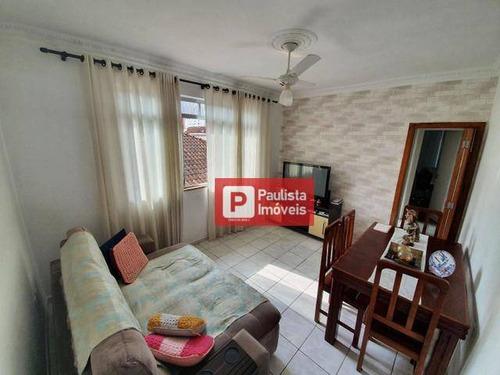 Apartamento Com 2 Dormitórios À Venda - Gonzaga - Santos/sp - Ap30796