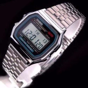 Relógio Pulseira De Aço Prata Unissex