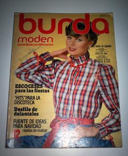 Revista Burda Moden 12/78 Con Moldes E Instructivo En Esp.