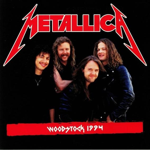 Lp Metallica Woodstock 1994 ( Vinil Duplo - Preto ) Lacrado