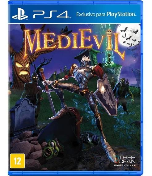 Jogo Medievil Ps4 Midia Fisica Original Game Novo Promoção
