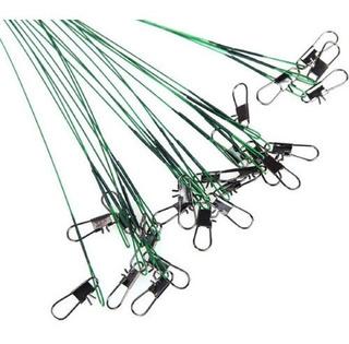 Castor Kit Com 72 Para Pesca Inoxidável Encastroado Snaps
