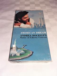 Sarah Brightman Andrea Bocelli Statue Liberty Vhs + Regalo